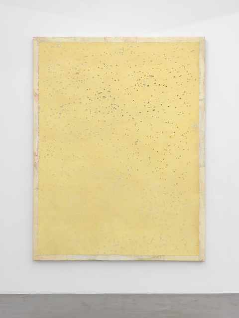Lawrence Carroll, 'Untitled (yellow painting)', 2017, Buchmann Galerie