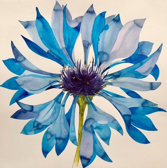 Idoline Duke, 'Blue Flower Imagined', 2019, ARC Fine Art LLC