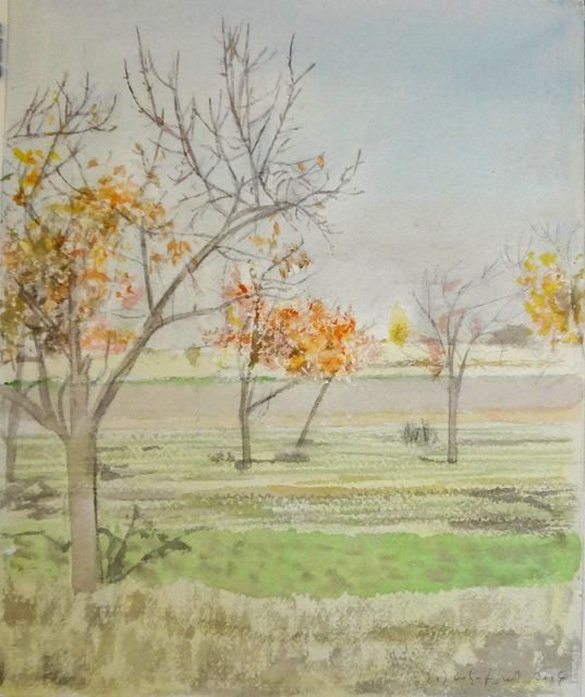 , 'Colorful Trees,' , Tufenkian Fine Arts