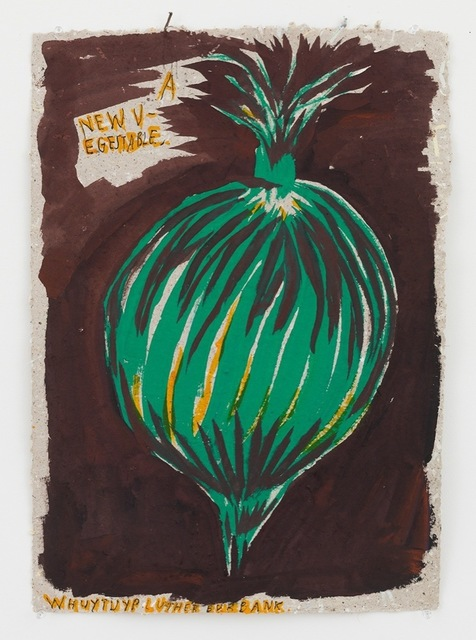 , 'No Title (A new vegestable...),' 2014, David Zwirner