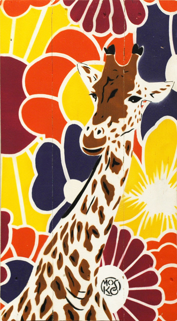 , 'Girafe A Fleurs,' 2016, Galerie Art Jingle