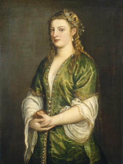 Titian, 'Portrait of a Lady', ca. 1555, National Gallery of Art, Washington, D.C.