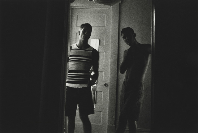 Allen Frame, 'John and Paul looking out, Atlanta', 1995, Visual AIDS: Benefit Auction 2019