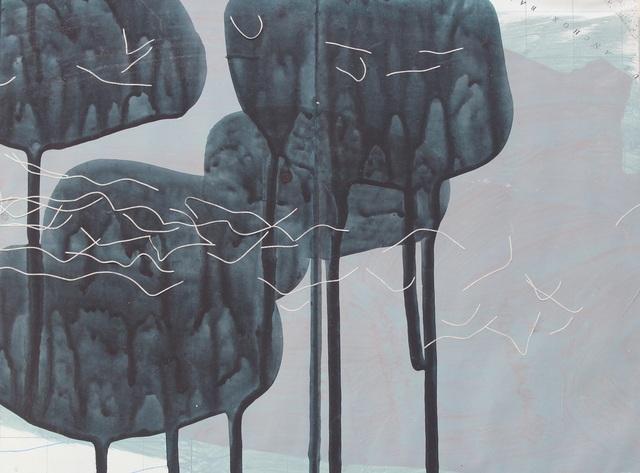 , 'Coast, Rocks, Flock Study 2,' 2017, Joanna Bryant & Julian Page