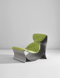 Maria Pergay, 'Lounge chair,' ca. 1970, Phillips: Design