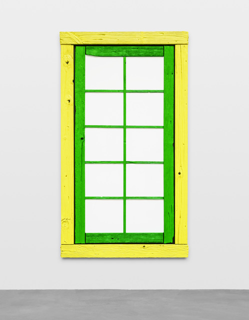 , 'the no,' 2015, Galerie Eva Presenhuber