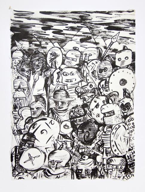 , 'The Gang,' 1990, James Cohan