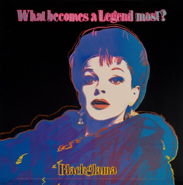 Andy Warhol, 'Blackglama (Judy Garland), from Ads', 1985, Heritage Auctions