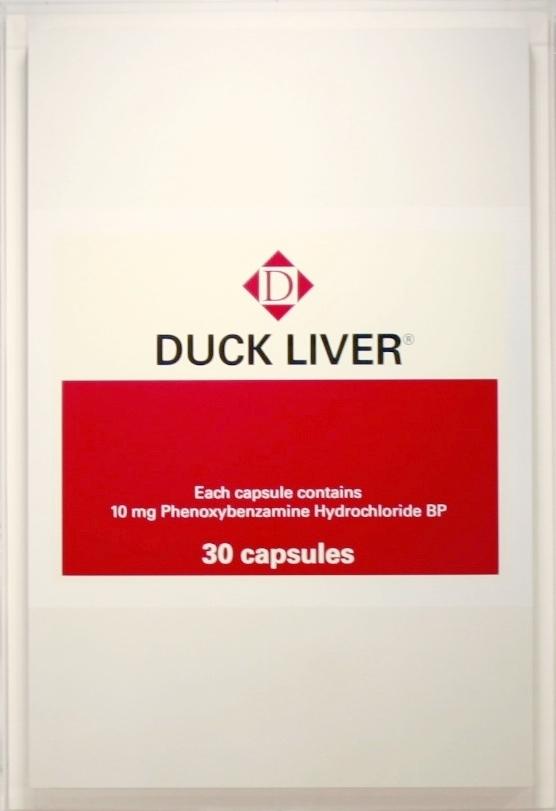"""DAMIEN HIRST """"Duck Liver"""", 2000"""