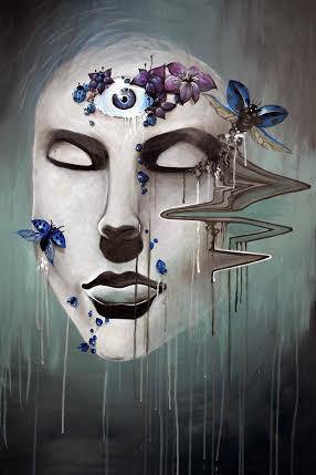 """Dissonance"" by Cassandra Hewitt, acrylic on canvas"