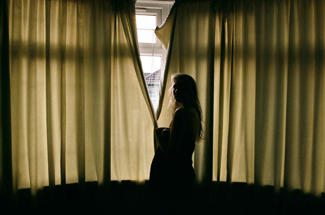 , 'Curtains, Brixton,' 2015, Francesca Maffeo Gallery