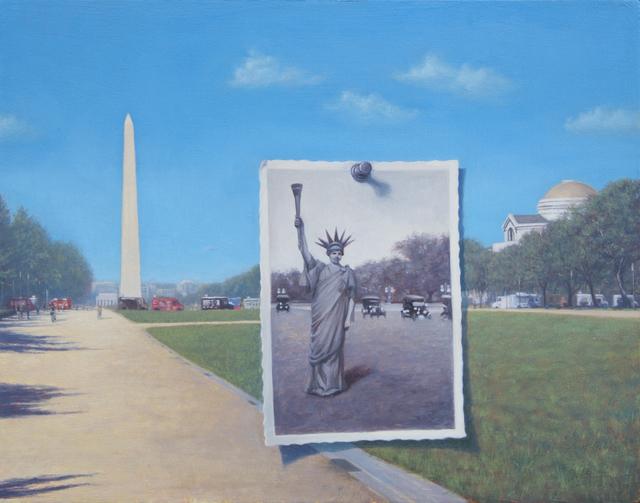 , 'Liberty Parade,' 2018, Adah Rose Gallery