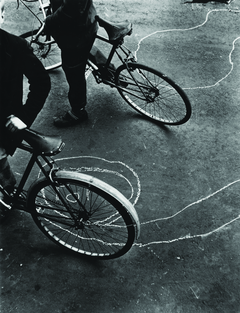 , 'Bicycle and graffiti, Portland Road, North Kensington, London, 1957,' 1957, The Photographers' Gallery