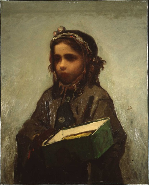 , 'Cigar Girl,' 1870, Montclair Art Museum
