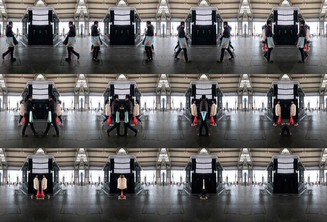 , 'OSTKREUTZ (S-Bahn Ring) video loop,' 2018, Rafius Fane Gallery