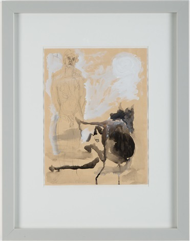 , 'Untitled (The Man and the Bull),' 1983, Anders Wahlstedt Fine Art