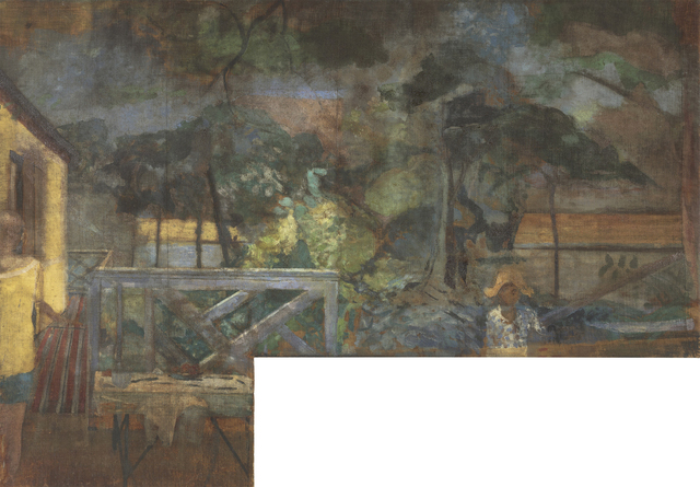 , 'The Colony Room Landscape,' ca. 1959, Gagosian