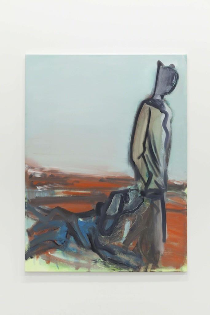 Alain Séchas - Côte d'or 2015 Oil on canvas