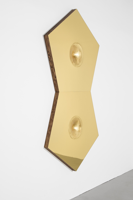 , 'ZENITHSLUTS (in gold) a gravitywell,' 2014, Spinello Projects