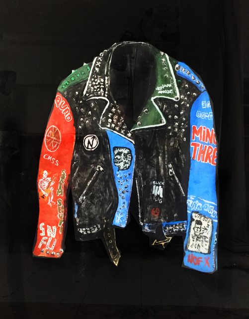 , 'Jacket with Blue Sleeve,' 2018, V1 Gallery