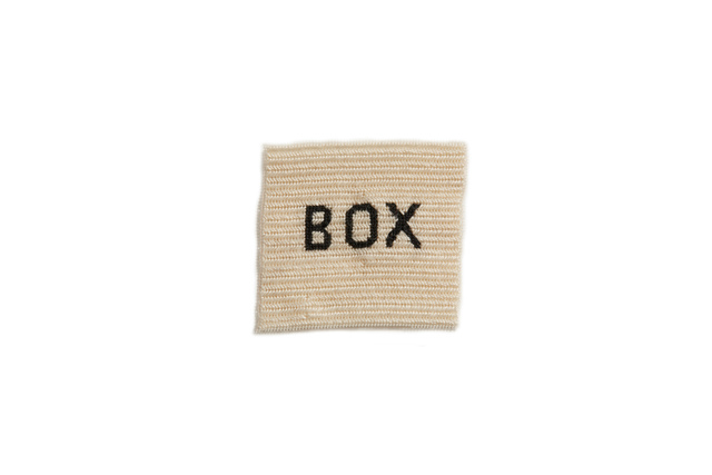 , 'BOX,' 2014, The Commercial