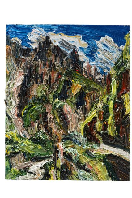 , 'Gipfel im Licht, Stepanzminda,' 2017, Galerie Kornfeld