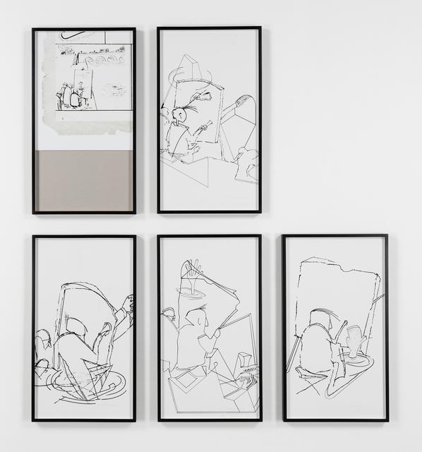 Eugenio Dittborn, 'El Pintor', 2014, Alexander and Bonin