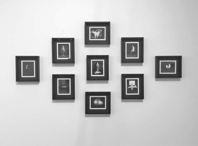 , 'Installation view of the series Original Type 55 Polaroid from the Betterment Room: Devices For Measuring Achievement,' 2005, EUQINOM Gallery