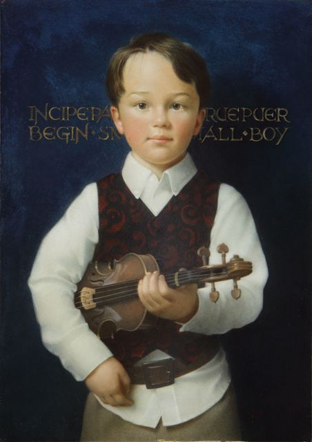 , 'Boy with Violin,' , J. Cacciola Gallery
