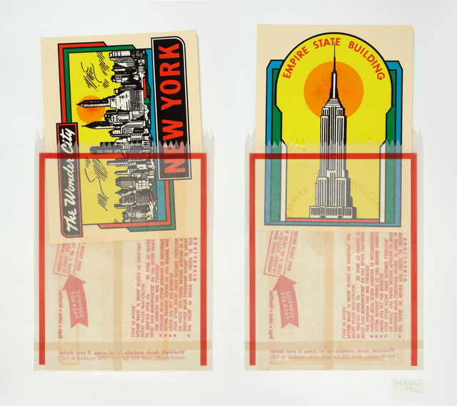 , 'N.Y. Decals 1 & 2 ,' 1967, Marlborough London