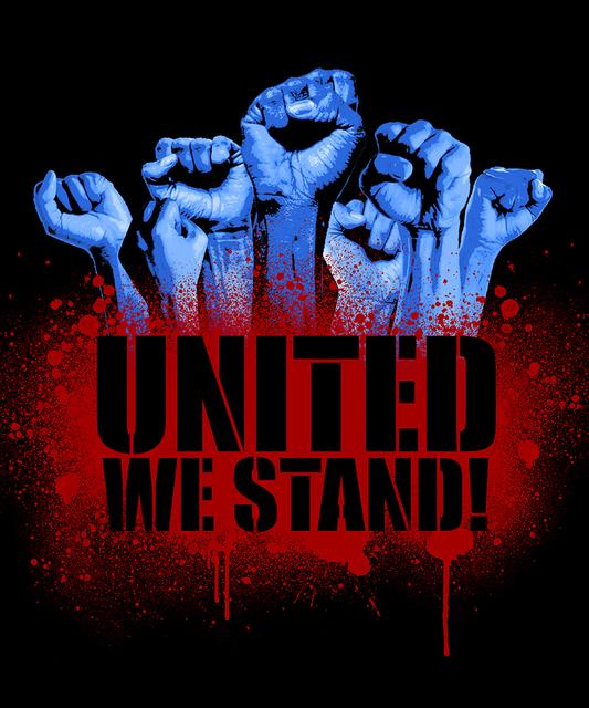 "Marcel ""SEL"" Blanco, 'United We Stand', 2020, Print, Pigment print on 100% cotton paper, FATHOM"