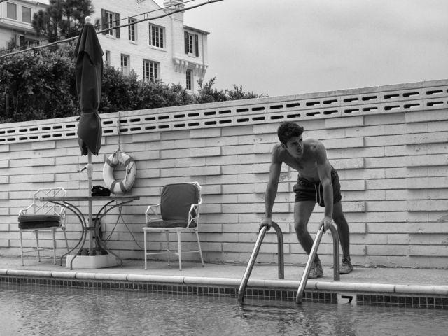 , 'Gabriel by the Pool, Hollywood, CA,' 2011, Fabrik Gallery