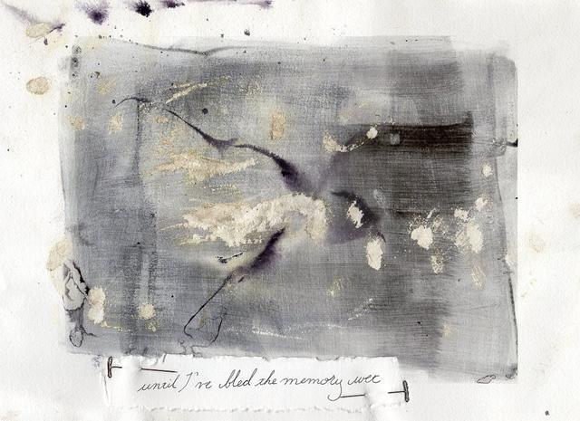 , 'Until I've bled the memory wet,' 2019, 440 Gallery