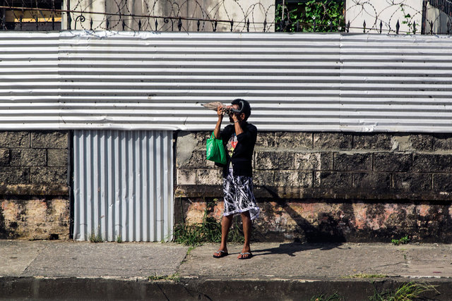 , 'Waiting on Charlotte Street, Port of Spain, Trinidad & Tobago,' 2016, Carrie Able Gallery