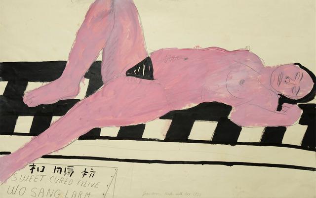 , 'Nude with Box,' 1973, Anglim Gilbert Gallery