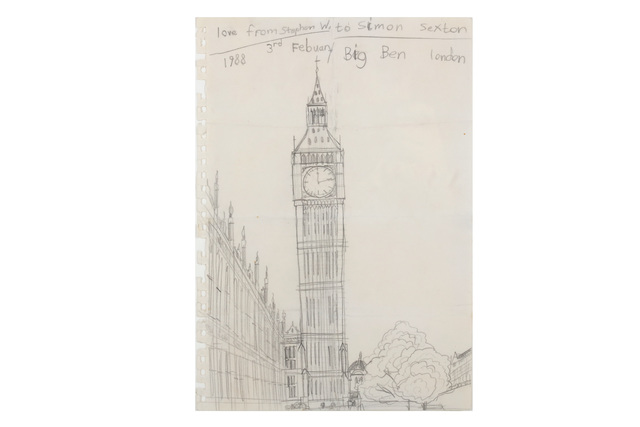 Stephen Wilthsire, 'Small Drawing Big Ben', Chiswick Auctions