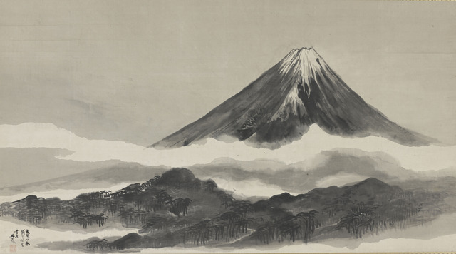 , 'Mt. Fuji. Japan, Edo Period (1615–1868),' 1802, The Metropolitan Museum of Art