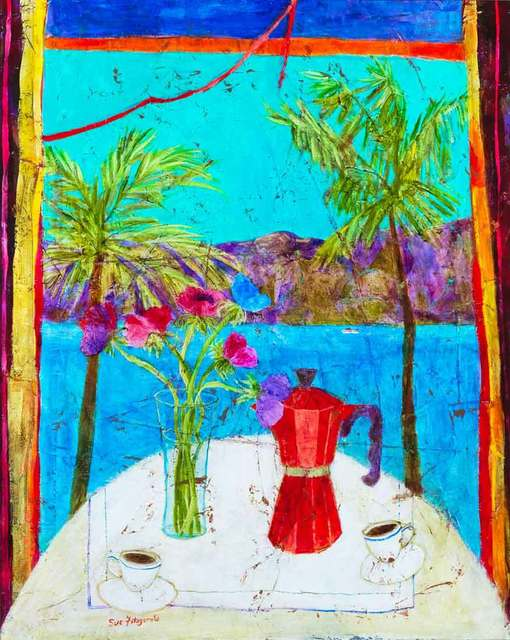 , 'Morning Coffee, Lake Maggoire,' , Catto Gallery