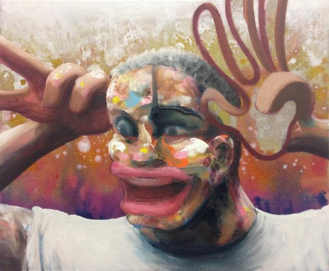 , 'Ha Ha Ha (étude pour Chat ! 2ème version),' 2018, Galerie C.O.A
