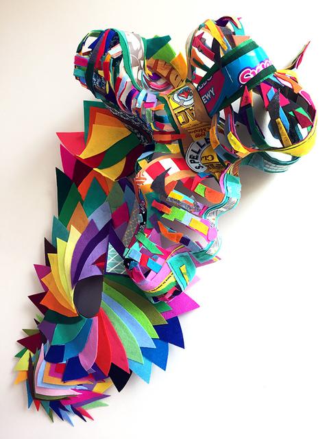 Lisa Hoke, 'Tear Here', 2018, Pavel Zoubok Fine Art