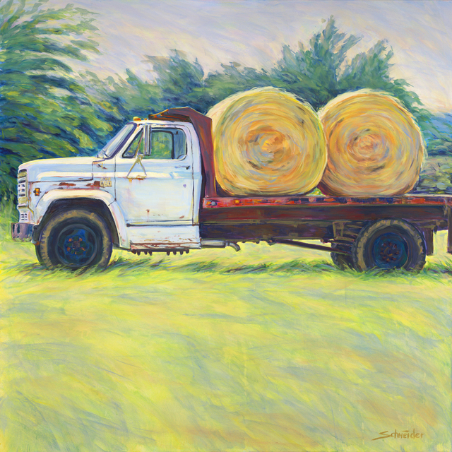 , 'Pete's Truck,' 2014, Greg Thompson Fine Art