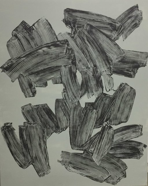 Lee Eu, 'Geste gris-bleu', 2019, Art Works Paris Seoul Gallery