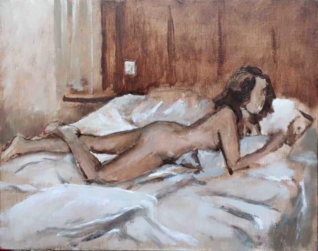 , 'Hôtel, Chambre n°504, Paris XVIIIème,' 2017, Galerie Pixi - Marie Victoire Poliakoff
