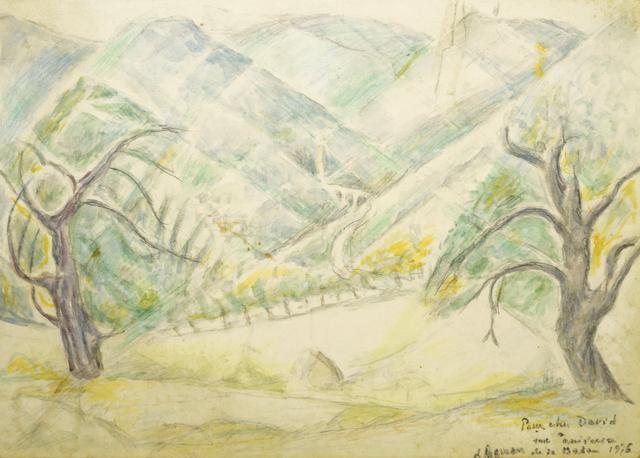 Marie Vorobieff Marevna, 'Valley landscape', 1975, Roseberys