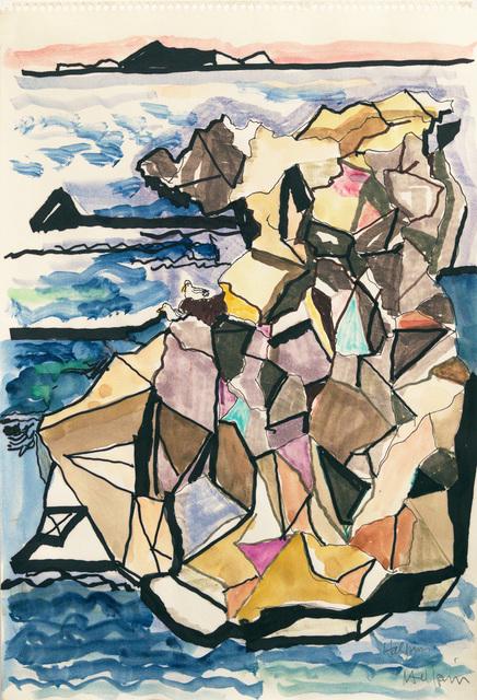 , 'Sea Ranch Rock Study,' ca. 1980, Edward Cella Art and Architecture