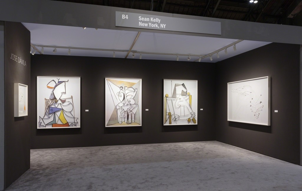 Sean Kelly at ADAA: The Art Show 2018 Solo Presentation: Jose Dávila February 28 - March 4, 2018, Booth B4 Photography: JSP Art Photography