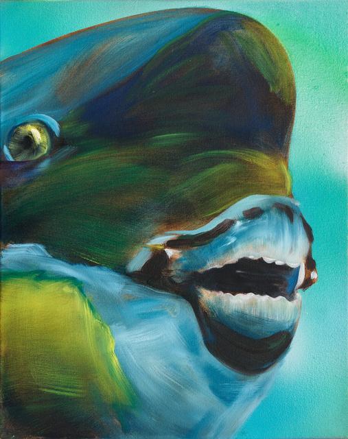 , 'Green Parrot Fish,' 2015, Rosamund Felsen Gallery