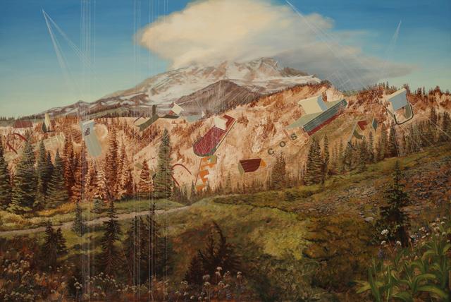 , 'Shipbreaking, Mount Rainier,' 2013, G. Gibson Gallery
