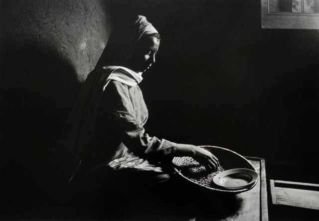 Chester Higgins, Jr., 'ETHIOPIA: Morning Chore', 1989 -printed 2006, Bill Hodges Gallery