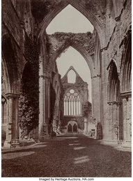 Kenilworth and Tintern Abbery Ruins (Two works)